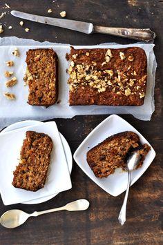 SCD Apple Walnut Bread (*Use honey for sweetener...)