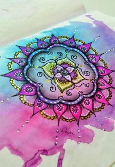 Mandala Vorlagen farben zeichnen