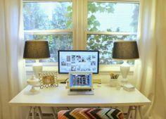 office desk via MINT LOVE SOCIAL CLUB