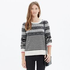 Madewell - Fairstripe Pullover Sweater