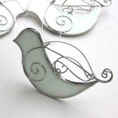 Nice wire work on a single piece of glass.