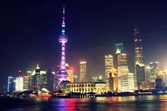 Shanghai City Guide – Everything You Need to Know Before You Go! - Pioneer and Beyond - Teach English in China Shanghai City, Shanghai Night, Shanghai Skyline, Lijiang, Asian Market, Chinese Market, China Travel, Most Visited, City Lights