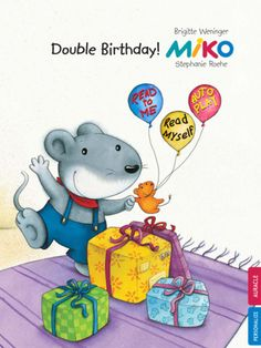 Celebrate Miko's birthday with Miko - Double Birthday storybook app. Get this and other Auracles at $.99 ONLY on iPad and iPhone.