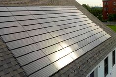 Apollo solar shingles and tiles are made up of crystalline silicon solar cells and can withstand winds up to 110 mph.
