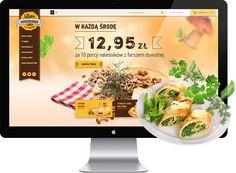 Strona internetowa Foodconstructor  http://wezom.pl/services/tworzenie-stron-internetowych