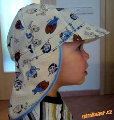 free pattern for a charming boy's balaclava.