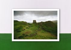 Poster, Etsy Shop, Painting, Pictures, Scotland, Postcards, Art Print, Brown, Printing