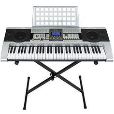 Best Choice Products 61 Key Music Electronic Keyboard Piano With X Stand LCD Display Screen http://ift.tt/2jnrNIv