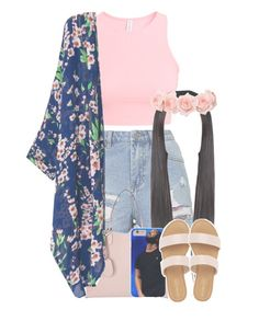 """;D"" by twerkinwitray ❤ liked on Polyvore featuring Topshop, H&M and Gucci"