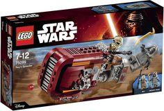 LEGO Star Wars 7: The Force Awakens - 75099 Rey's Speeder   #LEGO #LEGOStarWars #StarWars #TheForceAwakens #StarWars7