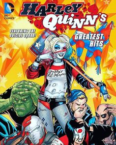 Harley Quinn's Greatest Hits TP from @DCComics! Pre-order now at comic shops!  Get an eyeful of Harley's greatest hits from comics including stories from BATMAN ADVENTURES #12 (Harley's first comics appearance!), BATMAN #613, GOTHAM CITY SIRENS #7, SUICIDE SQUAD #1, BATMAN #13, HARLEY QUINN #21, HARLEY QUINN AND THE SUICIDE SQUAD APRIL FOOL'S SPECIAL #1, and the two-page origin of Harley from COUNTDOWN #10  Item Code: MAR168712  In Shops: 7/13/2016