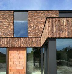 Brick Building, Building A House, Hotel Bristol, Brick Works, House Cladding, Brick Detail, Arch House, Brick Architecture, Brick Facade