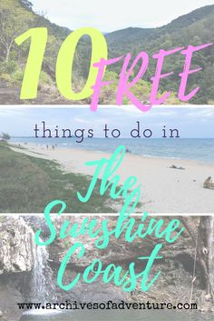 Your trip to the Sunshine Coast in Queensland, Australia does not have to break the bank. Here are 10 free things to do in the Sunshine Coast!