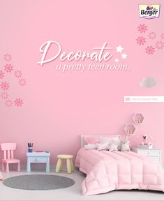 Decorating your Teenage girl's bed room Follow us for more such wall paint colors ideas.