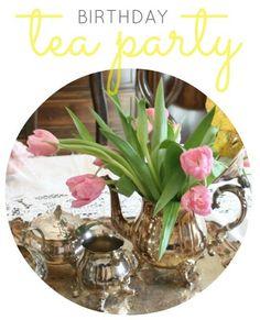 Crazy Wonderful: Izzy's birthday - tea party