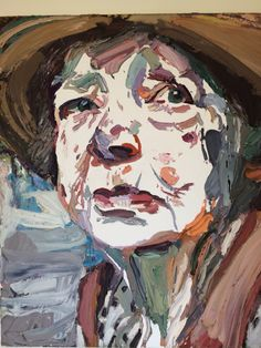 Portrait of the artist Margaret Olley by Ben Quilty, Australian contemporary artist. This painting was awarded the Archibald Prize Art And Illustration, Illustrations, Australian Painting, Australian Artists, Saatchi Gallery, Portrait Art, Portraits, Figurative Art, Oeuvre D'art
