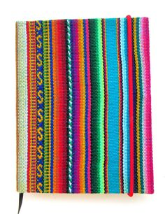 Journal Native South American Fabric