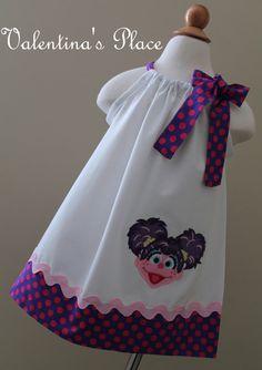 Abby Cadabby Dress | Sesame street Abby Cadabby pillowcase dress by Valentinasplace