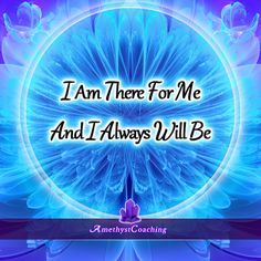 Today's Affirmation: I Am There For Me And I Always Will Be  <3 #affirmation #coaching