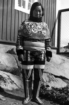 Isobel Wylie Hutchison: Inuit Greenlander in traditional costume