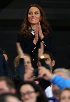 Kate Middleton Hands Out Gold Medals At The 2012 Paralympics