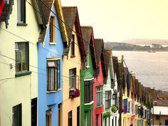 Cork, Ireland. I'd be happy here.