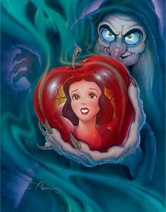 John Alvin Disney Princess Snow White Movie Poster