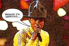 Pharrell Williams ne veut plus porter le chapeau