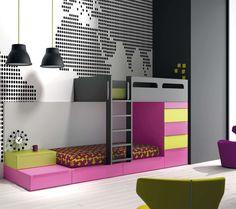 Просмотр изображений – Pokój dziecięcy в  . Автор – Mueblalia. Найдите лучшие фото и создайте идеальный дизайн интерьера для вашего дома.