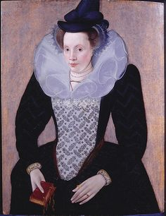 Portrait of an Unknown Lady, circa 1592