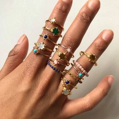 Astley Clarke | Stacking Rings | Floris | Gemstone Rings | Free Worldwide Delivery