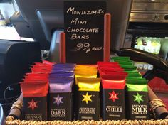 Montezuma's mini chocolates