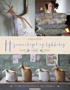 Tilda's Homemade and Happy Prim Christmas, Christmas Wishes, Diy Christmas Gifts, Christmas Time, Christmas Ornaments, Cute Sewing Projects, Sewing Crafts, Diy Crafts, Deer Pattern