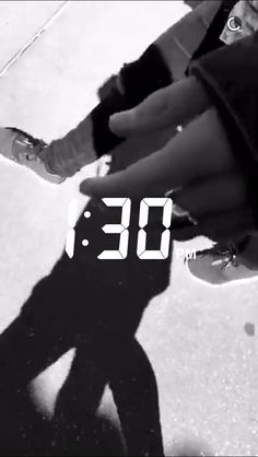 Ryland's shadow and Ross's hand