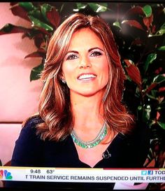 Natalie Morales of NBC's Today Show loves her Stella & Dot jewels - Contessa Jade Necklace - $118