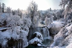 Rastoke falls, croatian town Slunj - similar natural phenomena as at the Plitvice Lakes