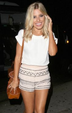 Mollie King, undone perfection.