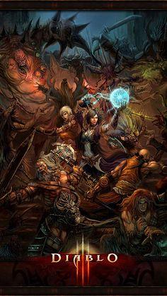DIABLO III (Diablo 3) - Rol, RPG, Fantasía. #Diablo3 #DiabloIII #Rol #RolePlaying #Role #RPG #JRPG #Games #Fantasia #Fantasy #ReaperofSouls #Blizzard
