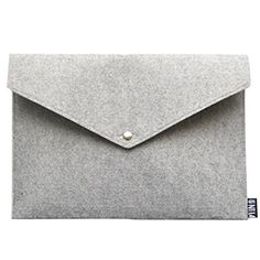 KINGSEVEN Classy Wool Felt File Holder, Paper Pockets , A...