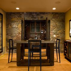 Interior Rock Design Ideas Pictures Remodel And Decor Dining Room Kitchen