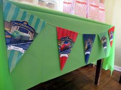 Chuggington banners for birthday party Theme! After the party I hung them from my sons curtain ends and he loves them! Second Birthday Ideas, Third Birthday, 3rd Birthday Parties, Birthday Fun, Chuggington Birthday, Train Party, Party Ideas, Fun Ideas, Party Time