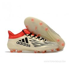 san francisco 5480e c8265 adidas X 16.1 FG AG ADIDAS BA7628-FG MENS Off White Core Black Red SALE  FOOTBALLSHOES