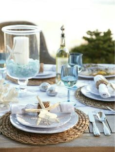 Sea side tabletop