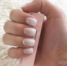 31 Gorgeous Light Nude Nails Design for This Season - Nail Idea 15 ❣️𝓖𝓸𝓻𝓰𝓮𝓸𝓾𝓼 𝓝𝓾𝓭𝓮 𝓛𝓲𝓰𝓱𝓽 𝓝𝓪𝓲𝓵𝓼 💖 💖 💖 💖 💖 You are in the right place about wedding nails almond Wedding Nails For Bride, Bride Nails, Wedding Nails Design, Mauve Wedding, Bridal Nail Design, Simple Wedding Nails, Pink Wedding Nails, Trendy Nails, Cute Nails