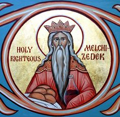 Hebrews 7:3 Without father, without mother, without descent, having neither beginning of days, nor end of life; but made like unto the Son of God; abideth a priest continually.  (Melchizedek was a type of the eternal priesthood of Jesus Christ, which David spoke of in Psalm 110:4.)