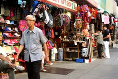 Shopping in Chinatown, New York