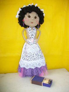 Boneca Vassourinha. facebook Arts Nancy