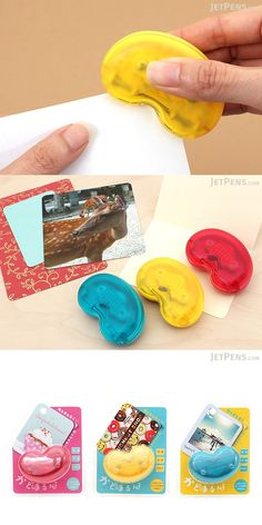 Use this colorful, conveniently-sized corner punch to add a nice finishing touch to photos, cards, files, and more. It creates clean, rounded corners with an arc radius of 5 mm and can cut up to three sheets of regular copy paper at once.