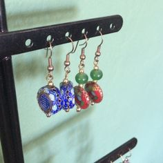 Spotted while shopping on Poshmark: 2 pairs Chinese bead earrings! #poshmark #fashion #shopping #style #Jewelry