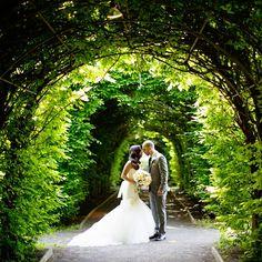 A Rustic Garden Wedding in Staten Island, NY